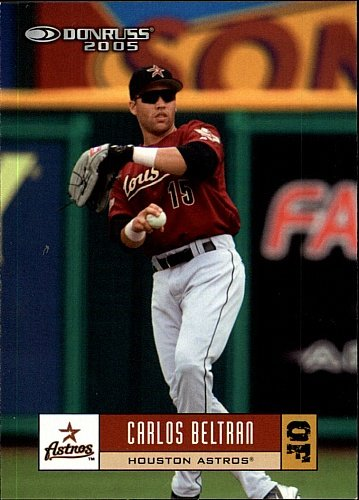 2004 Donruss Carlos Beltran Houston Astros Card 202 At