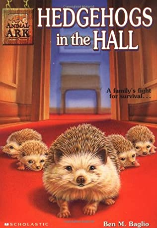 book cover of Hedgehogs in the Hall