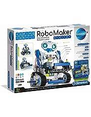 Clementoni 52397 Galileo Science 59122 - Coding Lab RoboMaker Starter, educatief robotisch laboratorium, elektronisch programmeer-leerspel, speelgoed voor kinderen vanaf 8 jaar met Kerstmis