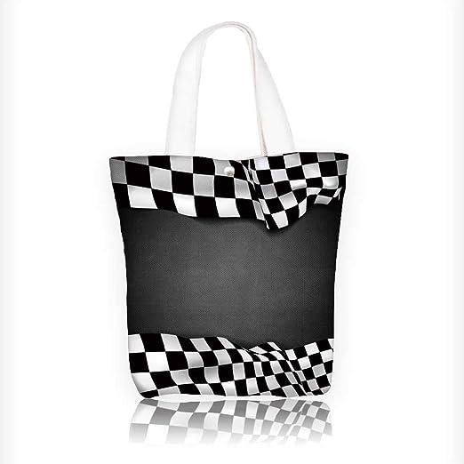 Bolso de lona para mujer, diseño de vector, 28 x 28 x 7,6 cm ...