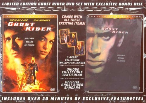 Ghost Rider (Full Screen Edition) Plus Exclusive Bonus Disc (Boxset) DVD - Exclusive Bonus Disc