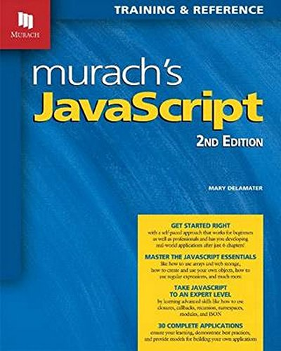 Murach's JavaScript, 2nd Edition by Mike Murach & Associates