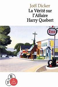 vignette de 'La vérité sur l'affaire Harry Quebert n° 2 (Joël Dicker)'