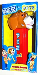 "Extra Large 8"" Beagle Dog Pez Treat Dispenser with 6 Treats"