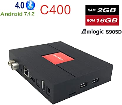 Smart TV Box Android 7,1, DVB T2 S2 satélite Receptor, S912 Octa Core 3 RAM 32 ROM Mini PC Dual Band 2.4 G/5g WiFi 4K Bluetooth: Amazon.es: Electrónica
