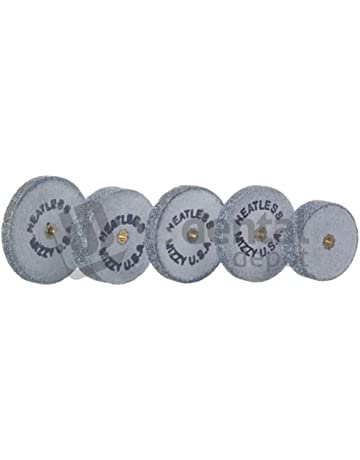 KEYSTONE - #2 Mizzy Heatless Wheels - White 50pk - 1in x 3.1mm -
