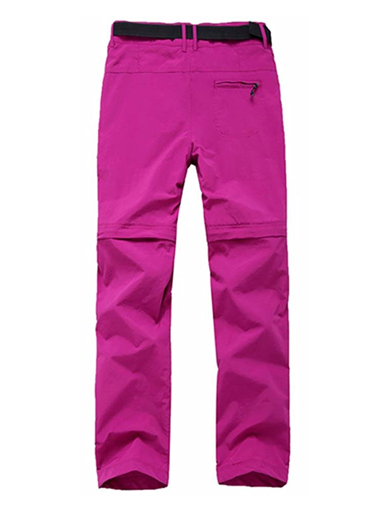 Gooket Womens Water-Resistant Quick Drying Outdoor Sports Climbing Hiking Convertible Pants