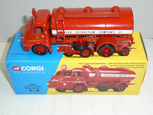 Corgi Classics ESSO Bedford S Type Elliptical Tanker 20201 die cast vehicle (Best Type Of Elliptical)