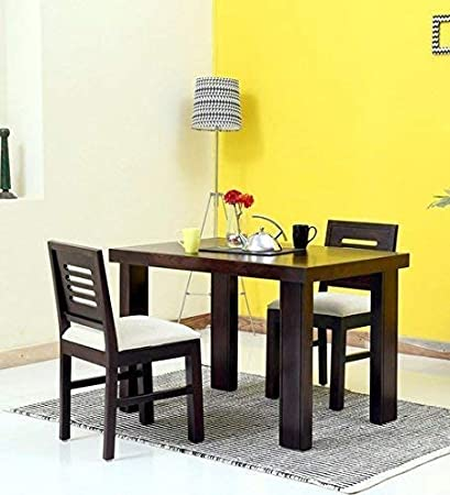 Mamta Decoration Sheesham Wood 2 Seater Dining Table Set For Living
