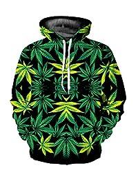 Haloon 3d Realstic Digital Printed Big Pocket Hooded Sweatshirt Hoodies