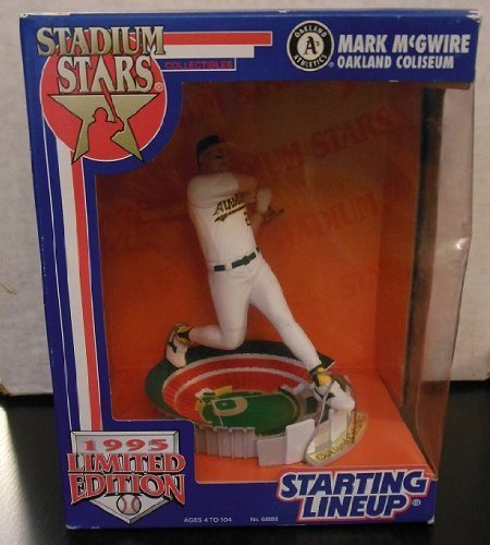 Starting Lineup Stadium Stars 1995 Limited Edition Mark McGwire Oakland Coliseum Action Figure by Kenner ()