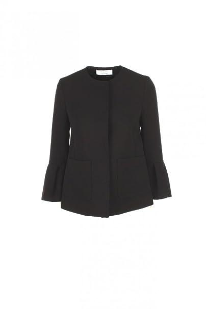 5a5bb35469 Kaos Giacchino Elegante da Donna (46 - Nero): Amazon.it: Abbigliamento