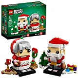 LEGO BrickHeadz Mr. & Mrs. Claus 40274 Building Kit...