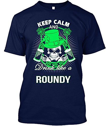 keep-calm-and-drink-like-a-roundy-irish-t-shirt-x-largenavy
