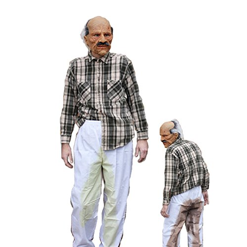 Bad Grandpa Funny Old Man Adult Halloween Costume