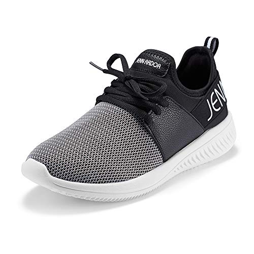 JENN ARDOR Women s Athletic Walking Running Shoes Lightweight Casual Comfortable Mesh Work Slip-on Sneakers Shoes