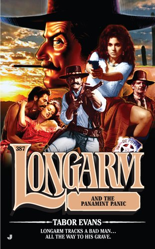 book cover of Longarm and the Panamint Panic