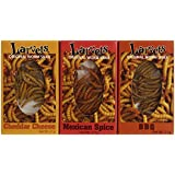 Larvets-Original Worm Snacks, Assortment (Pack of 24)