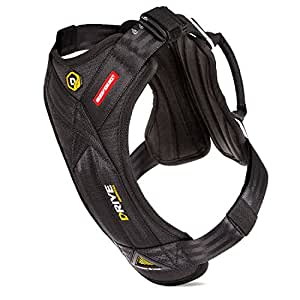 EzyDog Drive Safety Travel Dog Car Harness - Crash Tested US (FMVSS 213 Certified) - Premium Vehicle Restraint Vest for Protection and Comfort - Easy One Time Fit and Use with Car Seat Belt (Large)
