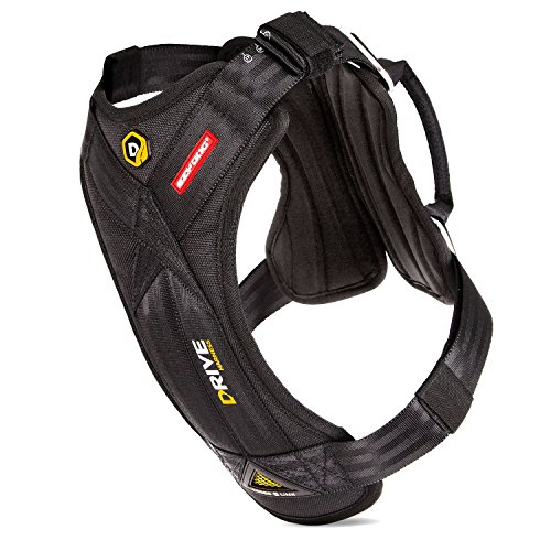 EzyDog DRIVE Dog Car Harness - Crash Tested US (FMVSS 213) Certified (Medium) by EzyDog