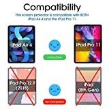 amFilm (2 Pack) Glass Screen Protector for iPad Air