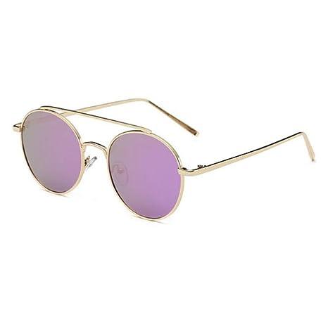 Wmshpeds Zustrom von Menschen personalisierte Sonnenbrille, Koreanisch Sonnenbrille, runde Box lady Sonnenbrille