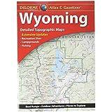 Garmin Delorme Atlas & Gazetteer Paper Maps- Wyoming (010-12694-00)