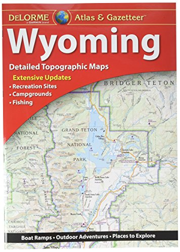 Garmin DeLorme Atlas & Gazetteer Paper Maps- Wyoming (010-12694-00) by Garmin