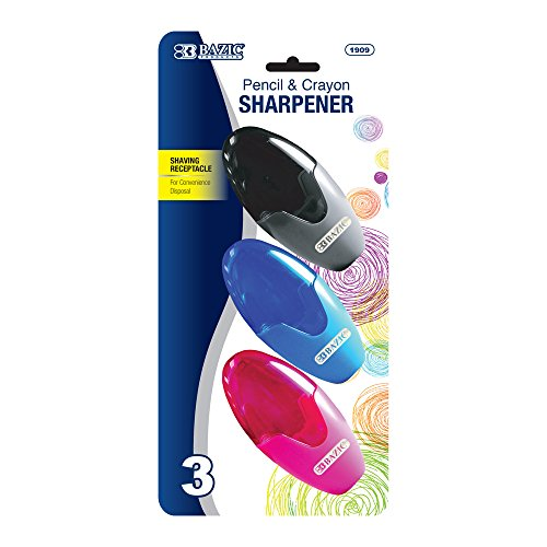 BAZIC Xtreme Oval Sharpener Receptacle