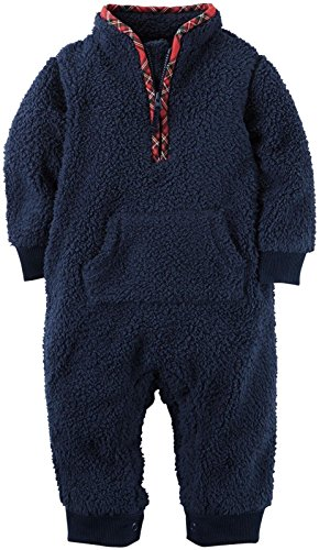 Carter's Baby Girls' 1 Pc 118g667, Navy, 6M