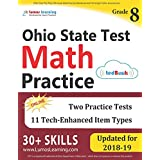 Ohio State Test Prep: 8th Grade Math Practice Workbook and Full-length Online Assessments: OST Study Guide