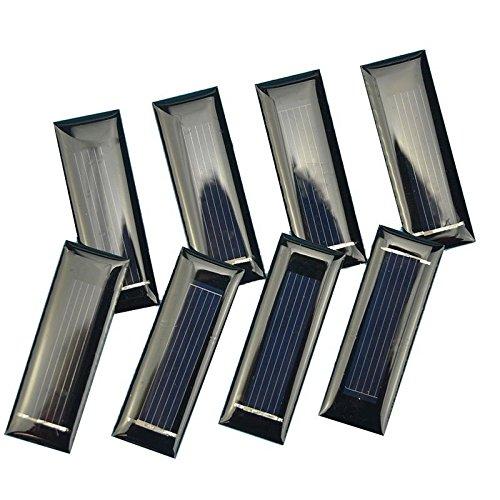 BELONG 10pcs 0.5V 100mA Mini Solar Panel Solar Cells Povoltaic Panels for Battery -