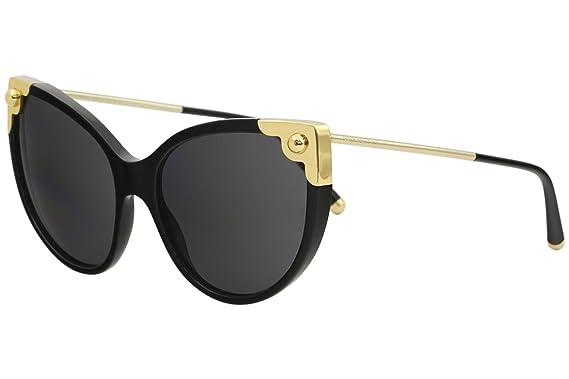 6463ec18776 Amazon.com  Dolce   Gabbana Women s Oversized Cat Eye Sunglasses ...