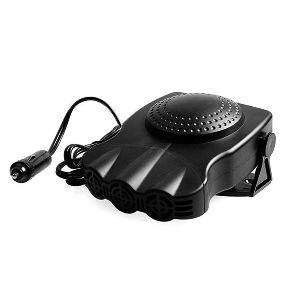 Zorvo 2 in 1 12V Car Portable Ceramic Heating Cooling Heater Fan Defroster Demister Air Blower