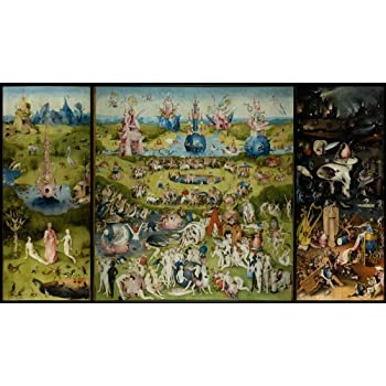 Amazon.com VintPrint Paintings Poster , The Garden of