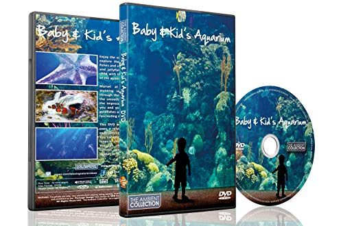 (Aquarium DVD For your Home - Baby and Kids Aquarium TV - for Child's Sleep Aid also Entertain Children with Sea Horse,Clown Fish,Jelly Fish,Gold Fish and Much More)