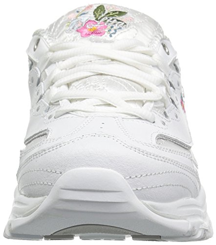 Skechers Womens Bright Blossoms Sneaker White