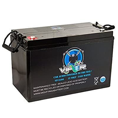 Viper VP-2400 12V 2400 Watt Replacement Battery for Kinetik HC2400