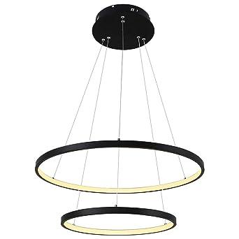 Table Lampe Suspension Désign Manger Led Dimmable Décoration Salle AjR3Lq54