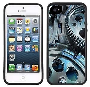 Gears Steampunk Steam Punk Handmade iPhone 5 5S Black Case