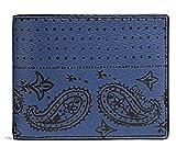Coach Blue Men's Bi-Fold Wallet