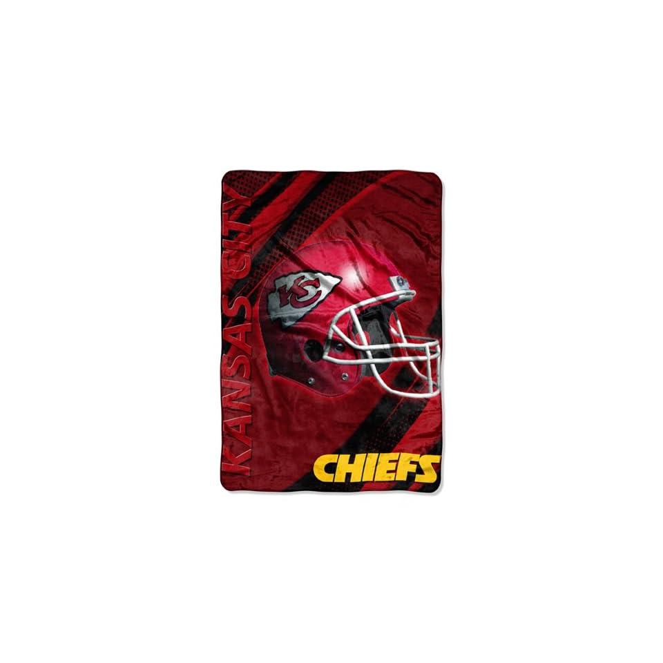 BSS   Kansas City Chiefs NFL Oversized Micro Raschel Throw