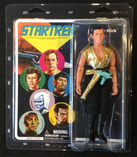 Star Trek The Original Series Mirror Kirk Retro Style Action Figure