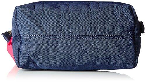 Oilily Spell Cosmeticpouch Mhz 3 - Carteras de mano Mujer Azul (Dark Blue)