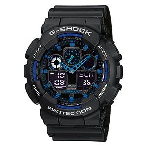 Casio  GA-100-1A2ER – Reloj para Hombre, Azul