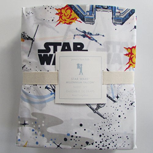 Pottery Barn Kids STAR WARS: MILLENIUM FALCON Sheet Set ~*Twin*~