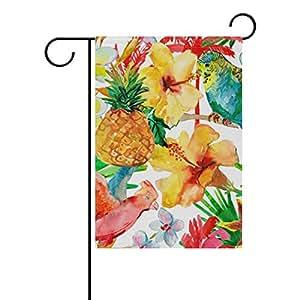 coosun Verano sensación de poliéster Jardín Bandera exterior Flag Home Party Jardín Decoración, doble cara, 12x 18