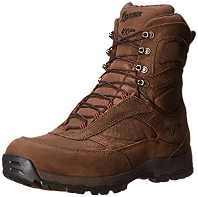 Danner Men's High Ground 8-Inch BR 400G Hiking Boot,Brown,9 D US