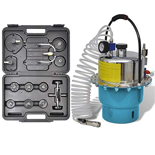 YOLO Stores - ABS System Compatible Pneumatic Tool Air Pressure Kit Brake and Clutch Bleeder Valve System Set Portable by YOLO Stores (Image #6)