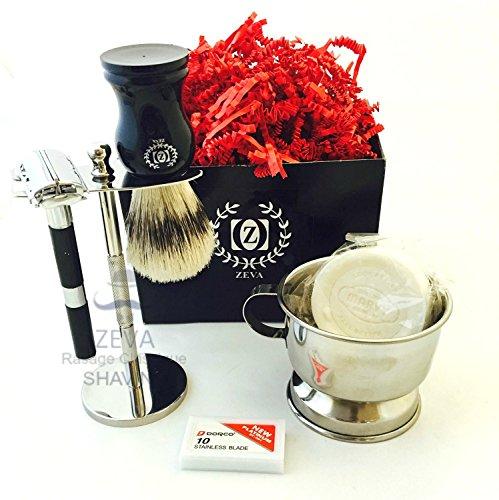 Shaving Double safety shaving Sensitive product image
